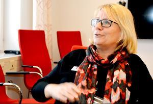 AnnKristine Elfvendal är verksamhetschef på MSB Sandö där man bedriver utbildning och övning.