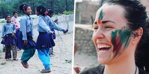 Ida har flera gånger rest till Nepal för att hjälpa unga flickor få ett drägligare liv.