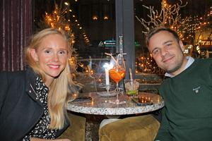 Emelie Pettersson och Jimmie Pettersson. Foto: Py Tenor