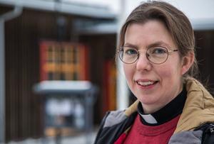 Hanna Pettersson är ny kyrkoherde i Krokoms pastorat. Foto: Anders Gustafsson