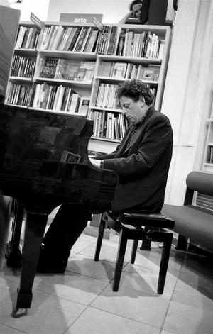 Philip Glass 1993. Foto: Pasquale Salerno