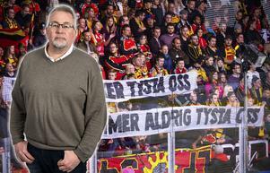 Sportens och Hockeypuls krönikör Per Hägglund tror och hoppas att enmansutredaren Ola Lundberg lyssnat på svensk hockeys verkliga ägare – supportrarna. Bild: Bildbyrån