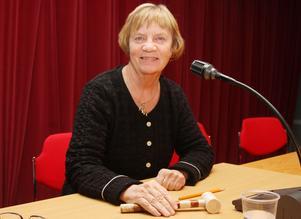 Gunilla Hedin är socialdemokratisk ordförande för kommunfullmäktige i Härjedalen. Den pågående mandatperioden beskriver hon som