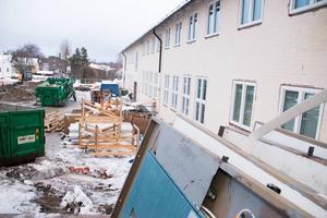 Perslundaskolan beräknas öppna för eleverna efter ombyggnaden den 2 november.