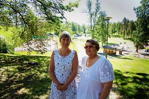 Eva Ersbacken från Kulturenheten och Birgitta Gustafsson från Studieförbundet Vuxenskolan har hjälpts åt att arrangera Skaparlägret sedan 2008. Även studieförbunden NBV, Sensus och ABF är med och anordnar lägret.
