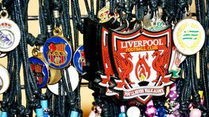 Smycken från vårmässan som får tankarna att vandra till den egyptiska kungen Mohamed Salah.