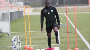 Ravy Tsouka missade matchen mot Umeå FC och under fredagen var det fortfarande osäkert om han kommer att vara spelklar till söndagen.