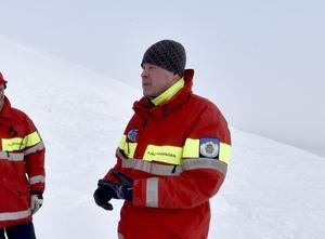 Mikael Westerdahl, fjällräddare i Grövelsjön. Arkivbild