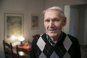 Lars-Åke Hedlund är hemma i Avesta igen efter ett omtumlande dygn i Stockholm.