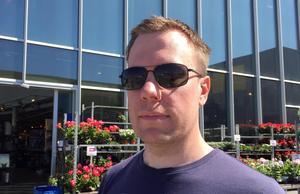 Joel Gradin, 41 år, studerande, Härnösand