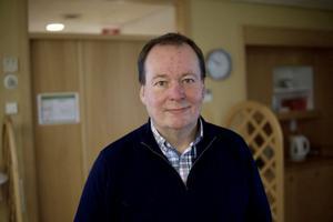 Den avgående ordförande Thomas Edblad, som är kvar i styrelsen och nu som kassör. Foto: Sofie Holmgren