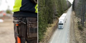 """""""Vi ser vad högern gör i Europa. De inför lagar som kan tvinga arbetare att jobba upp till en dag extra i veckan, utan att betala ersättning på tre år"""", skriver Mats Eriksson och Lena Johnsson vid LO-distriktet Dalarna och Gävleborg. Foto: TT/Montage"""