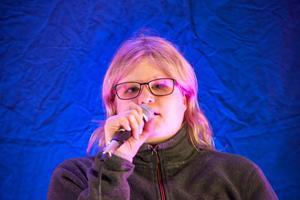 Anna Nordin deltar för andra gången i Funkisfestivalen och det gör hon med en av sina favoritlåtar Till min kära, som hon tillägnar sin kille Stefan.
