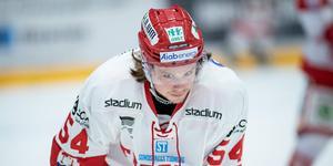 Jonathan Dahlén lämnade Timrå efter förra säsongen. Foto: Magnus Lejhall/BILDBYRÅN