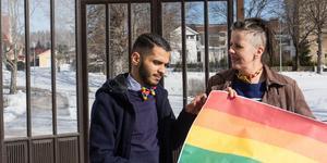 Mohammed Rabia som arrangerar Fagersta Pride tillsammans med Carina Fredriksson har fått ta emot ett dödshot via brev.