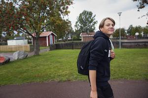 Andreas Magnusson går i nian på Djuråsskolan.