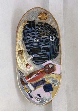 Vera Nilssons  altartavla. Bild: Anna Porsmyr, Sundsvalls Museum