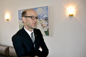 Regiondirektör Hans Wiklund har jobbat två år som regiondirektör och var även under fem år regional utvecklingsdirektör i Region Västernorrland.