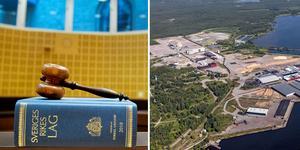 Företaget som hyrde lokaler på industriområdet vid hamnen i Norrsundet lämnade i måndags in en konkursansökan till Gävle tingsrätt. Foto: Jessica Gow och Erik Wikström