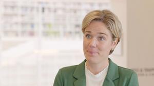Sigrid Saveljeff, vicerektor samverkan, på Högskolan Dalarna.