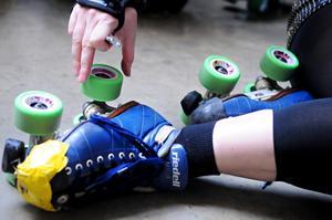 Vi vill att flera ska upptäcka vår fantastiska sport, skriver Sundsvall Demolition Rollers, genom Eva Andersson. Foto: Dawn Villella/TT-arkiv