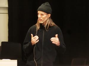 Martin Vister, vd på Eivy Clothing i Åre, visade hur  företaget fått fart på exporten av snowboardunderställ för