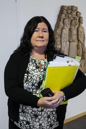 Åklagaren Stina Sjöqvist har yrkat att mannen ska dömas för dråp.