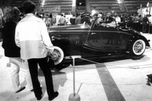 En riktig raritet visades upp på mässan 1983. Det var det då enda exemplaret i Sverige av Mercedes-Benz 170 A-cab.