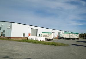 Härnösands plastindustri har sin verksamhet på Saltvikhöjden.