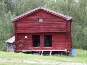 Häbre på Sidensjö hembygdsgård. Foto: Kurt Söderlund