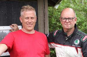 Richard Herbertsson och Patrik Pettersson.