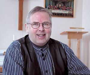 Lars Gunnarsson, Himmeta, har avlidit. Arkivbild.
