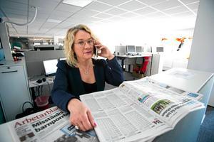 Helena Nyman har varit chefredaktör Arbetarbladet i Gävle, men tar nu över DT.