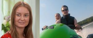 Cecilia som bor i Avesta blev dubbelt vald av Oscar i senaste avsnittet av Bonde söker fru. Foto: TV4.