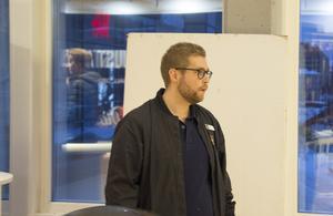 Erik Eriksson, regionchef vid UF.