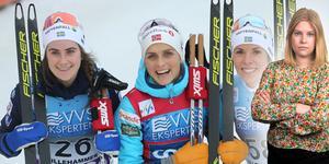 Ebba Andersson och Charlotte Kalla återigen på pallen. Camilla Westin listar fem punkter från världscupen i Lillehammer. Bilden är ett montage.