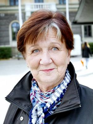 LIllemor Söderström, 66 år, pensionär, Gävle:– Ja. Jag röstar på ett parti som jag hoppas ska värna om oss pensionärer.