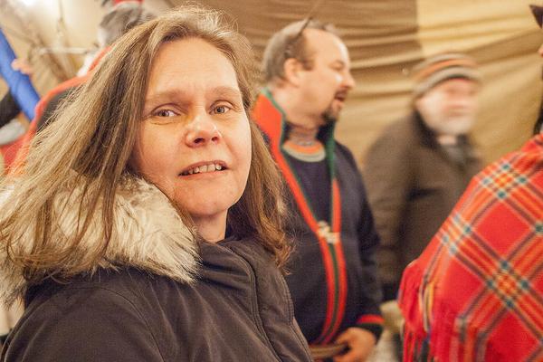 Tina Andersson från Tänndalen är själv engagerad politiskt.