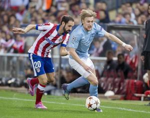 Emil Forsberg och hans Malmö FF föll tungt i Madrid efter att ha släppt in fem mål i andra halvlek.