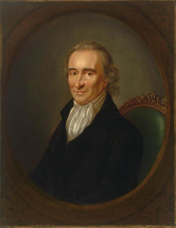 Thomas Paine 1792. Målning av Laurent Dabos.