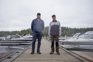 Niclas Eriksson och Kjell Bergström.