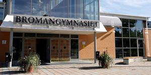 Bromangymnasiet i Hudiksvall. Bild: Arkivbild