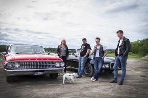 Light valley cruisers är ett nytt motorgäng i Ljusdal, och troligen med de yngsta medlemmarna.
