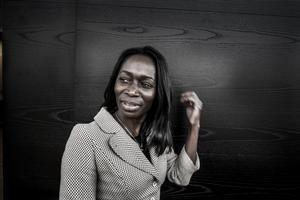 Nyamko Sabuni företräder djupt antiliberala idéer. Hon blir inte en seriös partiledare för Liberalerna.