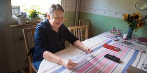 Kerstin Åström har brevväxlat med Gill Catterall sedan hon gick sexan. Förra veckan sågs de för första gången efter 47 års brevkontakt.