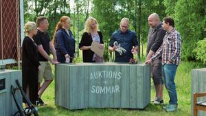 I programmet syskonen Jens och Ullis Björnehall mot vännerna Patrick Lundin och Johnny Lundin.Foto: SVT