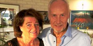 """Lars-Gunnar Lundin: """"Livskvalitet med min älskade hustru Siw."""""""