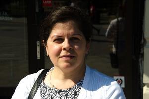 Auricleide Carvalho, 47 år, redovisningsassistent, Sundsvall: