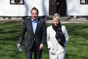 Statsminister Stefan Löfven (S) och utrikesminister Margot Wallström (S). Foto: Johan Nilsson/TT