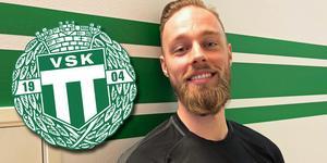 Jesper Gustavsson är ny fystränare i VSK Fotboll.